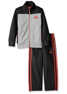 adidas Baby Boys' Tricot Zip up Jacket and Pant Set