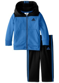 adidas Baby Boys' Zip Hoodie and Pant Set