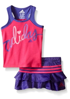 adidas Baby Girls' Top and Skort Set