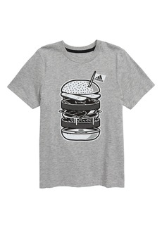 adidas Badge of Sport Cheeseburger Graphic T-Shirt (Toddler Boys & Little Boys)