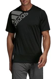 adidas Badge of Sport Logo Graphic Performance T-Shirt