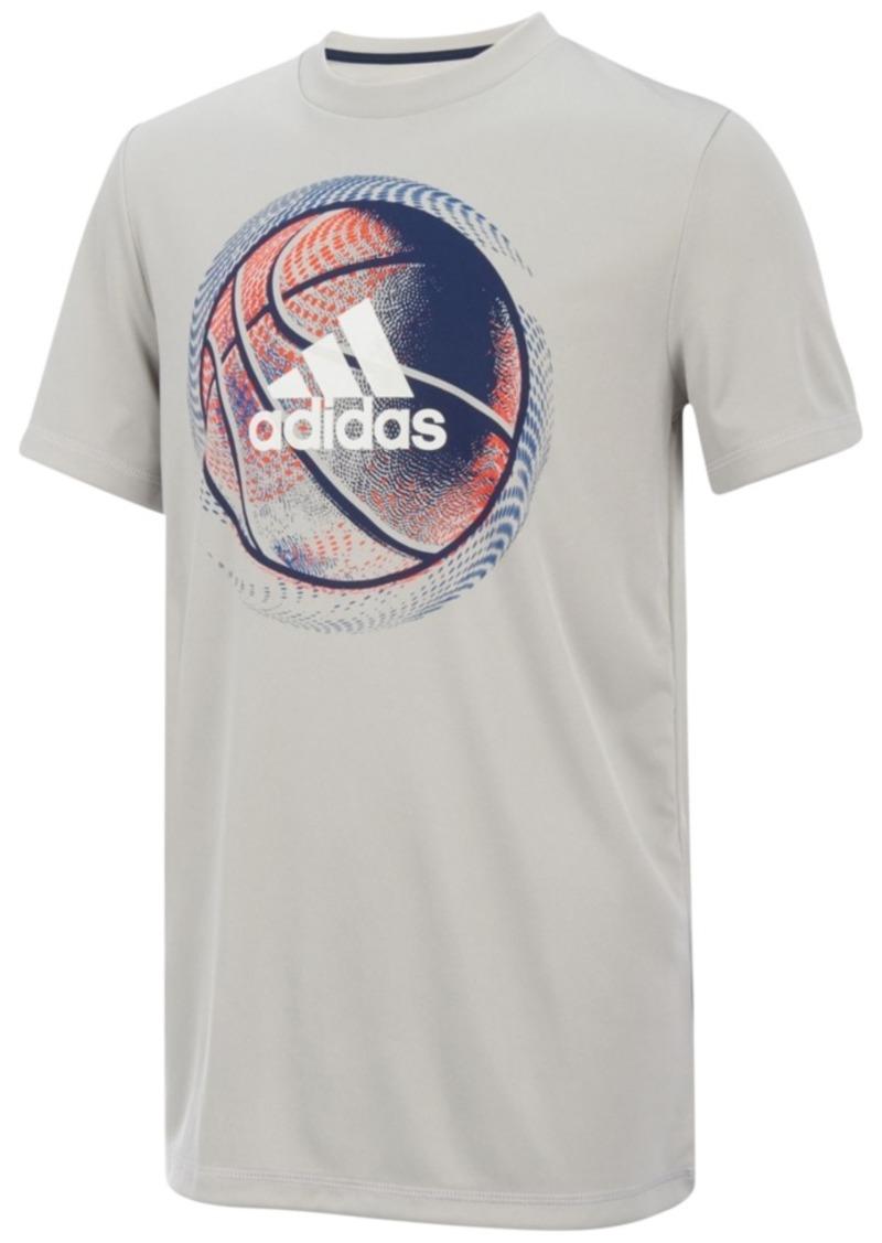 Rabatt Basketball Print T Shirt, Little Boys  Kostenloser Versand