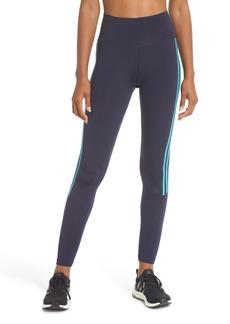 adidas Believe This 3-Stripes High Waist Ankle Leggings