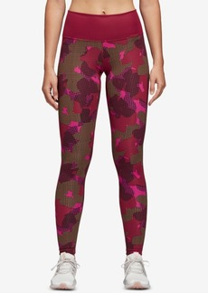 adidas Believe This Printed High-Rise Ankle Leggings