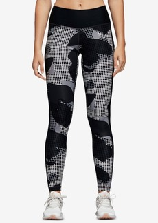 adidas Believe This Printed High-Rise Printed Ankle Leggings