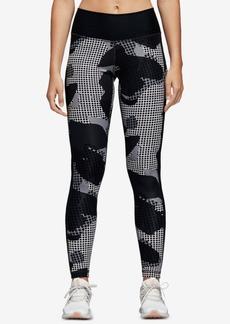 adidas Believe This Printed High-Rise Printed Ankle Leggings