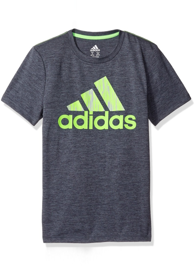 adidas adidas big boys 39 active tee shirt s shop it to me