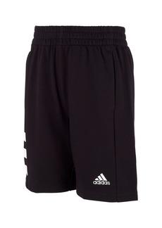 adidas Big Boys Badge of Sport 3-Stripe Short