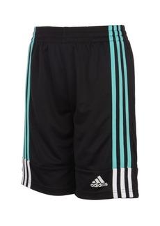 adidas Big Boys Clashing 3-Stripes Shorts