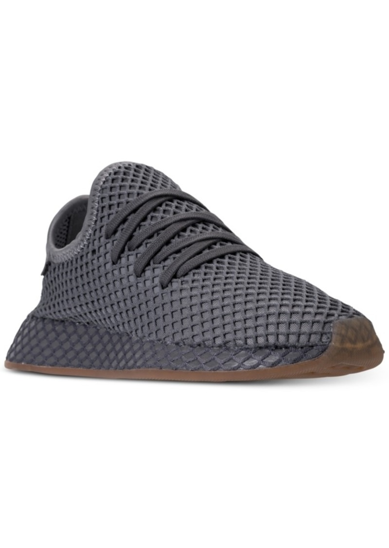 693cb53eb Adidas adidas Big Boys  Deerupt Runner Casual Sneakers from Finish ...