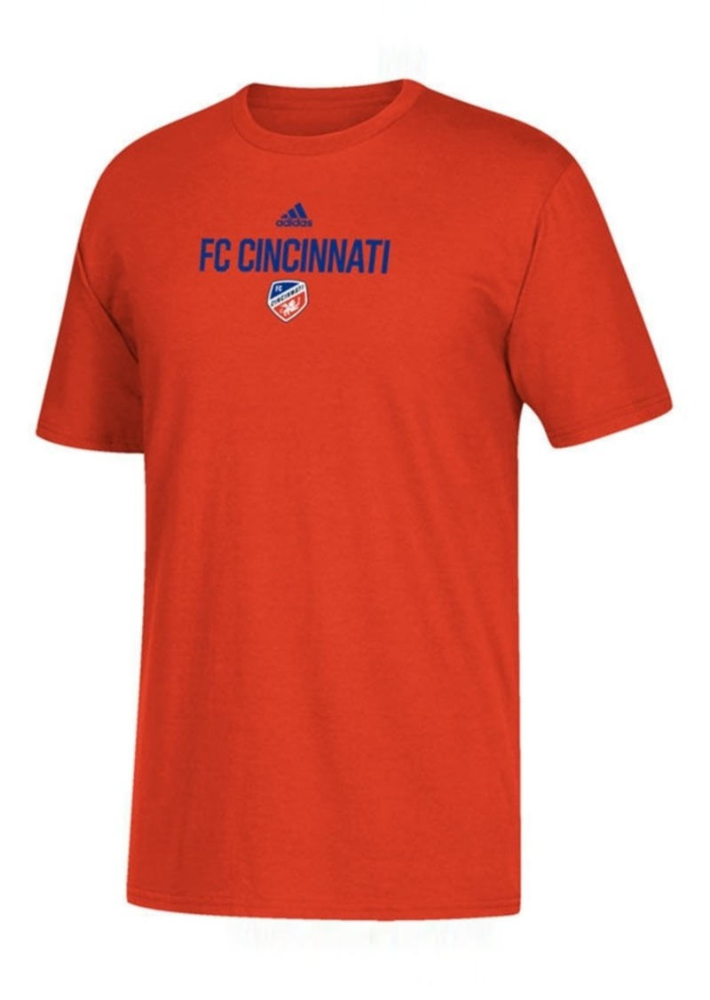 adidas Big Boys Fc Cincinnati Locker Stacked T-Shirt