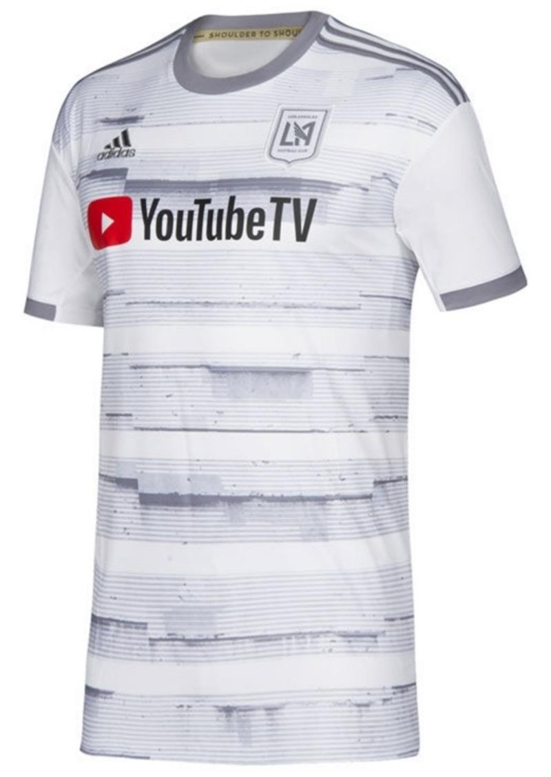 adidas Big Boys Los Angeles Football Club Secondary Replica Jersey