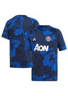 adidas Big Boys Manchester United Club Team Pre Match Shirt