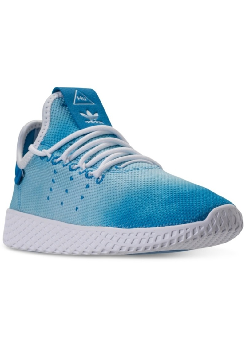 90460fa577eb0 adidas Big Boys  Originals Pharrell Williams Tennis Hu Casual Sneakers from Finish  Line