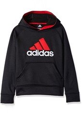 adidas Big Boys' Po Tech Fleece Hoodie  /10-12