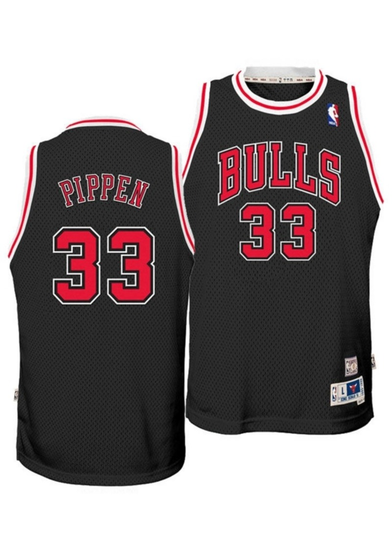 adidas Big Boys Scottie Pippen Chicago Bulls Retired Player Swingman Jersey