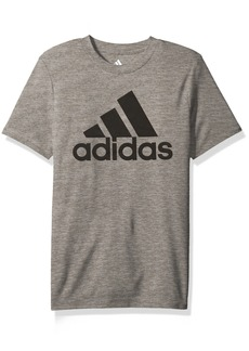 adidas Big Boys' Short Sleeve Logo Tee Shirt  L