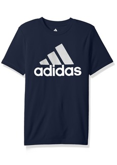adidas Big Boys' Short Sleeve Logo Tee Shirt  S