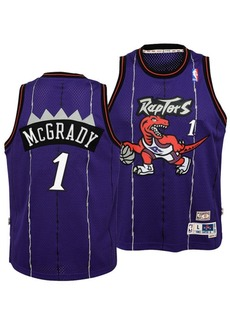 adidas Big Boys Tracy McGrady Toronto Raptors Retired Player Swingman Jersey