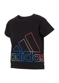 adidas Big Girls Short Sleeve Pullover T-shirt