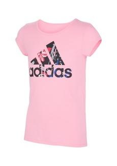 adidas Big Girls Short Sleeve Side Vent T-shirt