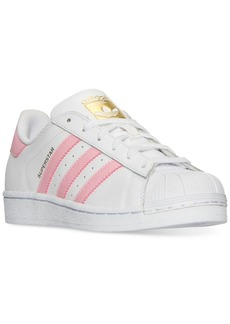 adidas Big Girls' Superstar Casual Sneakers from Finish Line