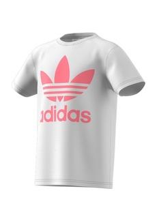 adidas Big Girls Trefoil T-shirt
