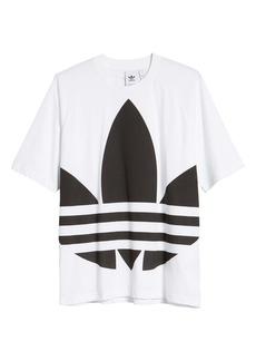 adidas Big Trefoil Crewneck T-Shirt