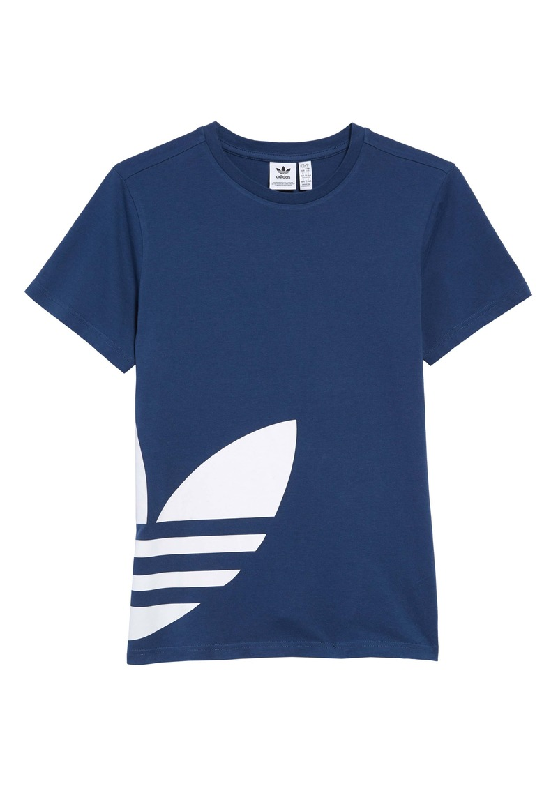 adidas Big Trefoil Graphic Tee (Big Boy)