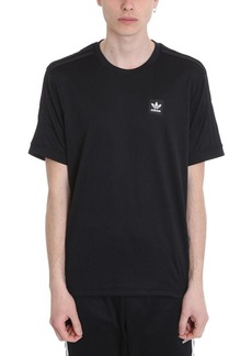 Adidas Black Cotton Firebird Tt T-shirt