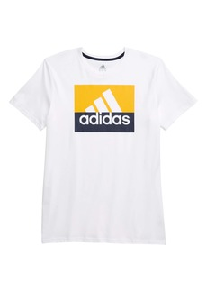 adidas Block Graphic T-Shirt (Big Boys)