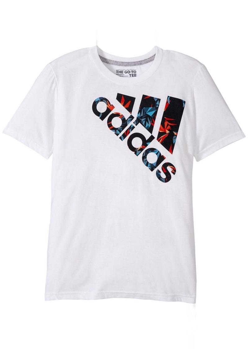 180653ab3 Adidas Adidas Boys' 30's Tee Urban Jungle Logo B 88o7e 10 | Tshirts