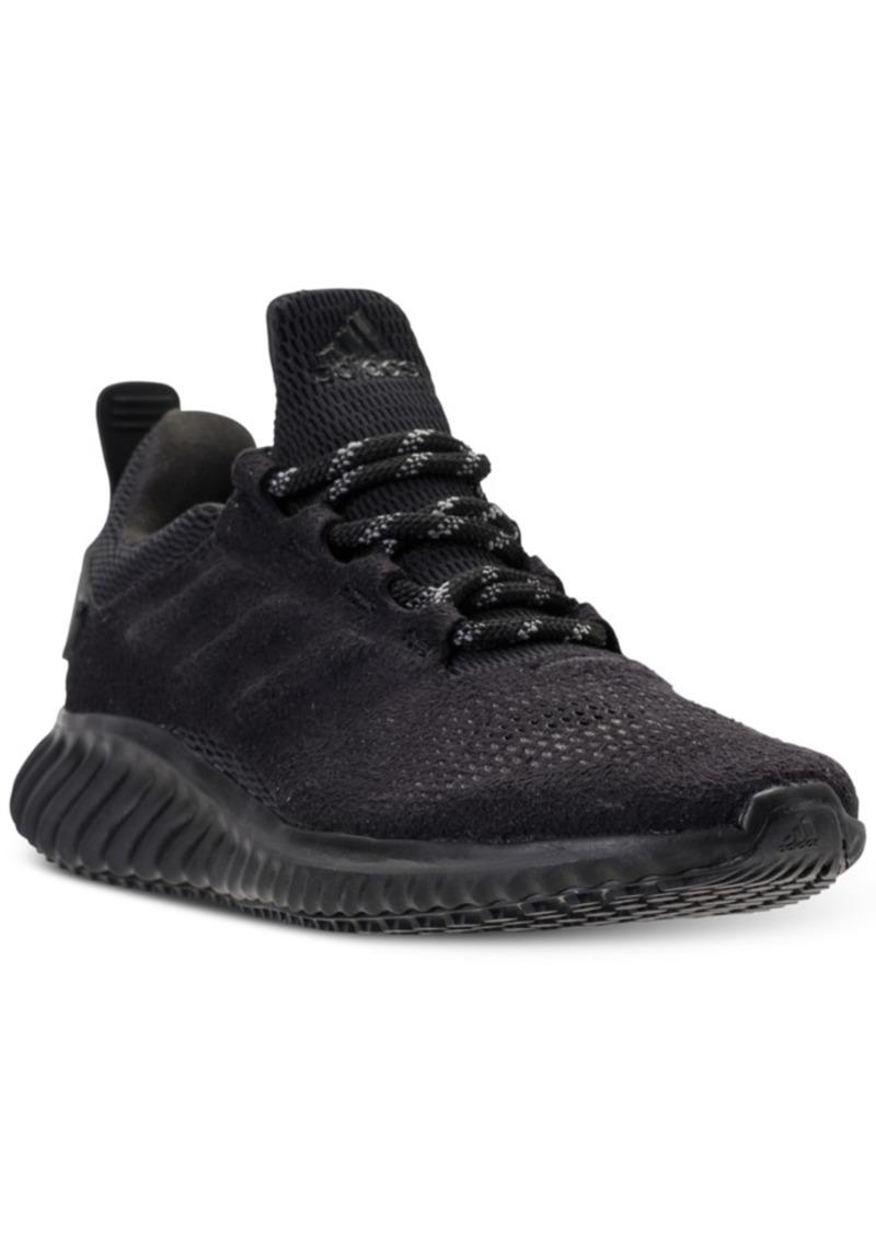 a1e7ffcb6e805 Adidas adidas Big Boys  AlphaBounce Cr Running Sneakers from Finish ...