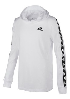 Adidas Boy's Badge Of Sport Cotton Hooded Tee