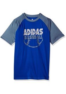 Adidas Boys' Big Short Sleeve Graphic Tee Shirts