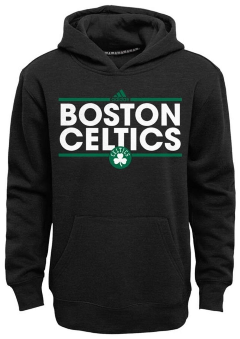 adidas Boys' Boston Celtics Power Play Hoodie