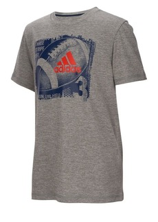 Adidas Boy's Climalite Collage Sport Ball Tee