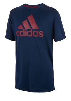 Adidas Boy's Climalite Dot Camo Logo Tee