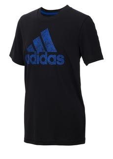 Adidas Boy's Climalite Motivation Logo Tee