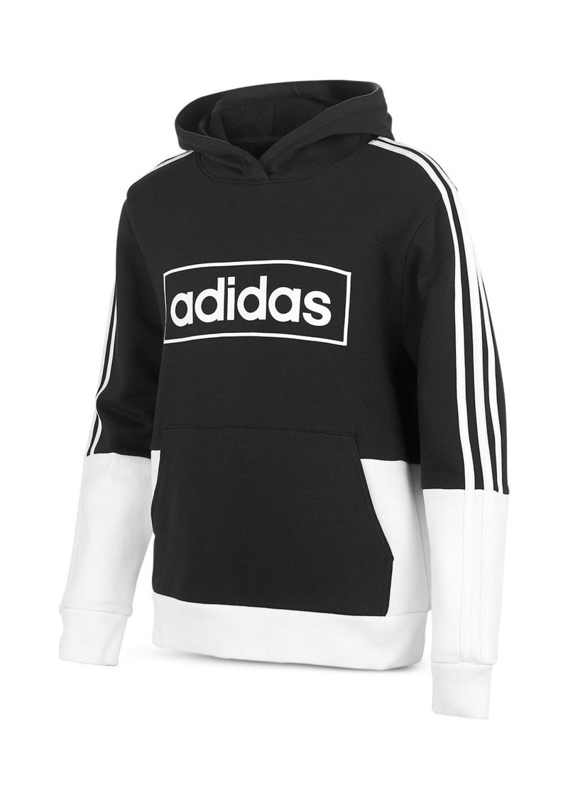 Adidas Boys' Color-Block Hoodie - Big Kid