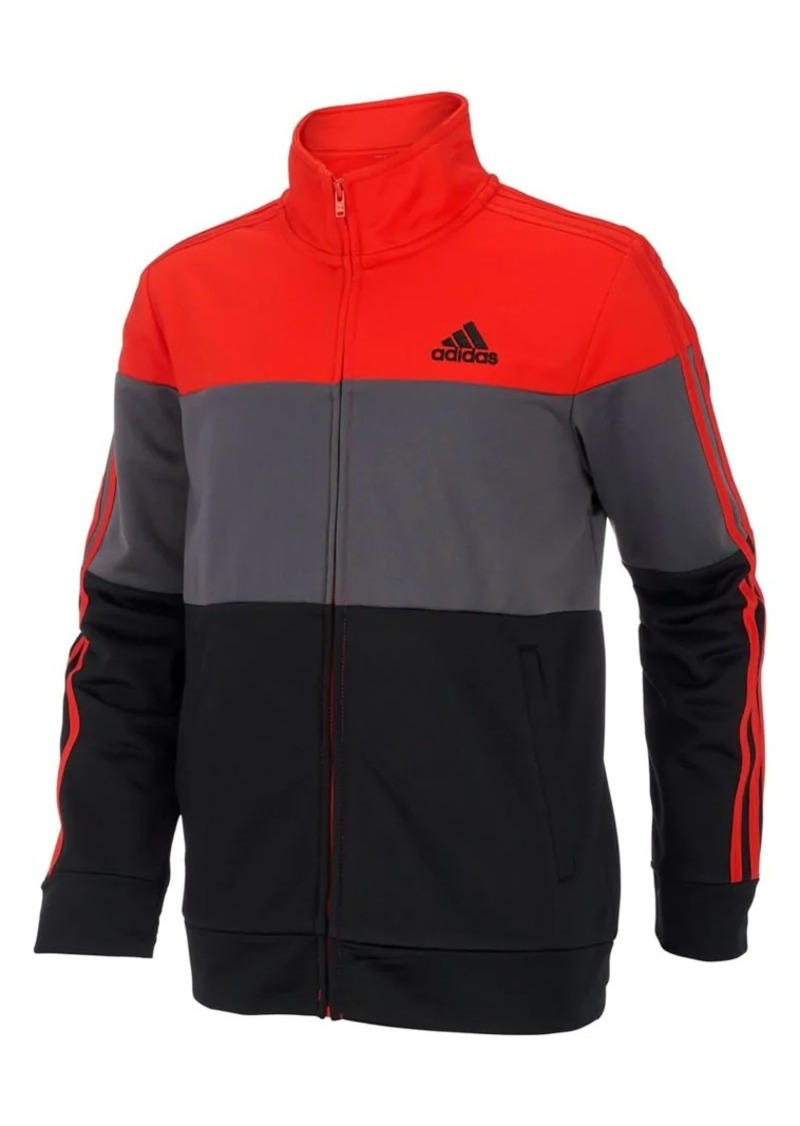 Adidas Boy's Colorblock Tricot Jacket