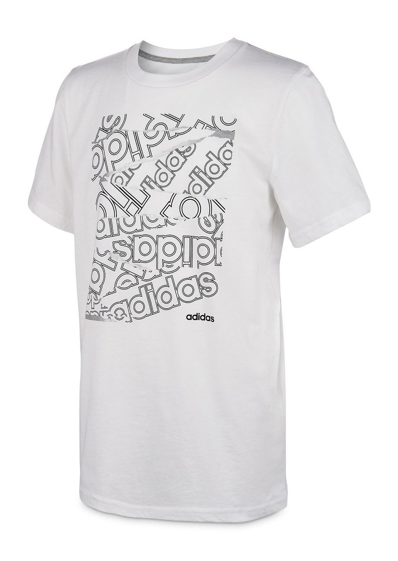 Adidas Unisex Core Logo Tee - Big Kid