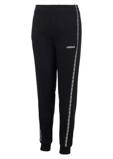 Adidas Boy's Core Tape Cotton Blend Fleece Jogger Pants