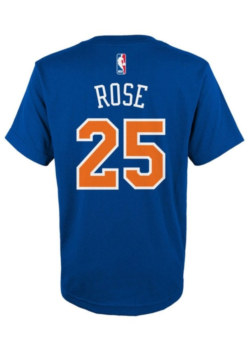d192e5a204c4 Adidas adidas Derrick Rose New York Knicks Name And Number T-Shirt ...
