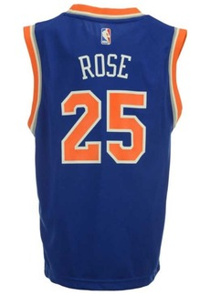 adidas Derrick Rose New York Knicks Revolution 30 Jersey, Big Boys (8-20)