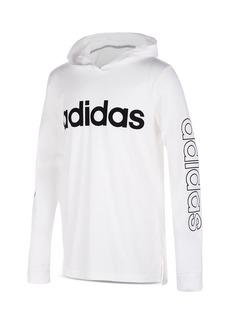 Adidas Boys' Hooded Logo Tee - Big Kid