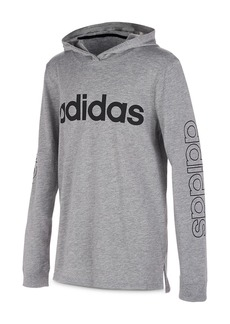 Adidas Boys' Hooded Logo Tee - Big Kid