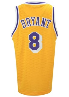 adidas Kobe Bryant Los Angeles Lakers Retired Player Swingman Jersey, Big Boys (8-20)