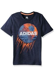 Adidas Boys' Little Short Sleeve Graphic Tee Shirts