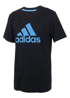 Adidas Boy's Logo Cotton Tee